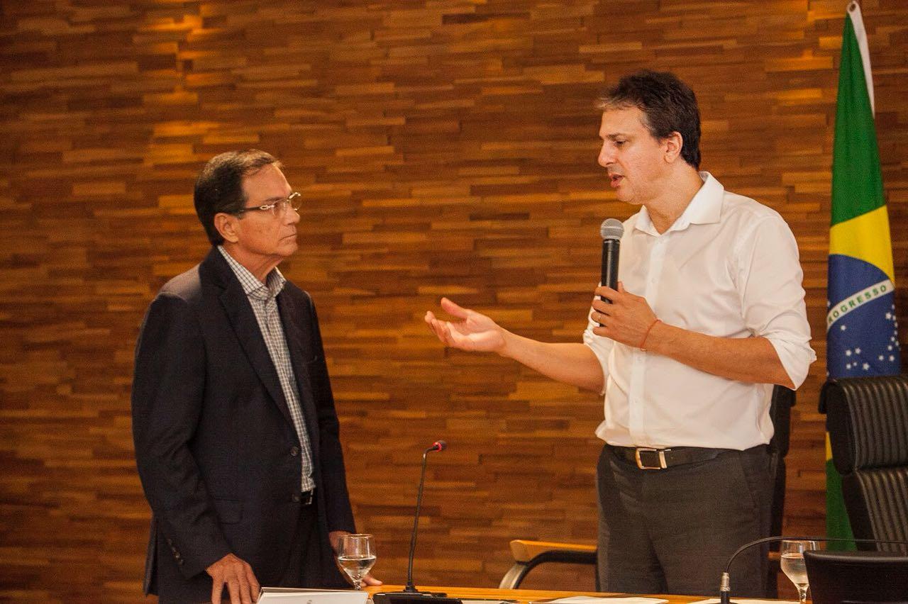 Representantes da FIEC são recebidos pelo governador Camilo